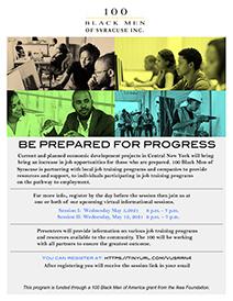 Job Training Info Session Flyer